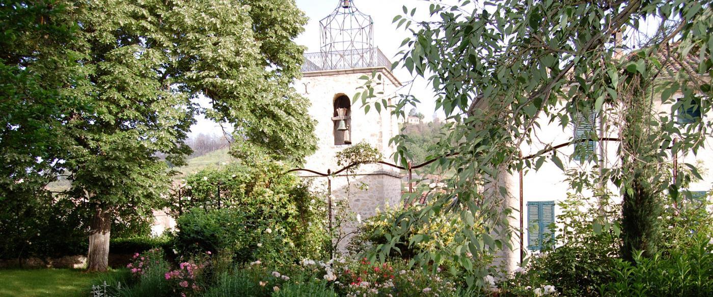 jardin et campanile